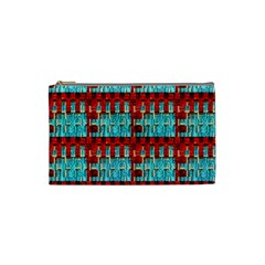 Architectural Abstract Pattern Cosmetic Bag (small)