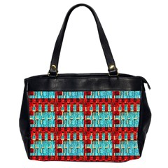 Architectural Abstract Pattern Office Handbags (2 Sides)
