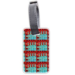 Architectural Abstract Pattern Luggage Tags (two Sides)