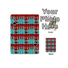 Architectural Abstract Pattern Playing Cards 54 (mini)