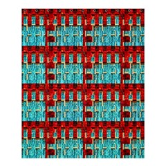 Architectural Abstract Pattern Shower Curtain 60  X 72  (medium)