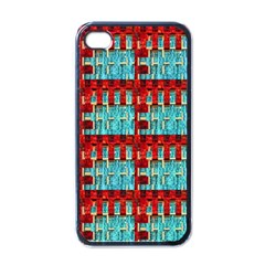 Architectural Abstract Pattern Apple Iphone 4 Case (black)