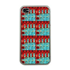 Architectural Abstract Pattern Apple iPhone 4 Case (Clear)