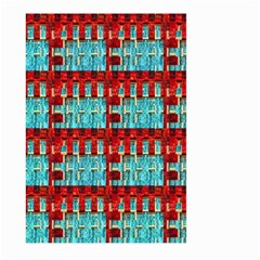 Architectural Abstract Pattern Large Garden Flag (Two Sides)