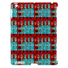 Architectural Abstract Pattern Apple iPad 3/4 Hardshell Case (Compatible with Smart Cover)