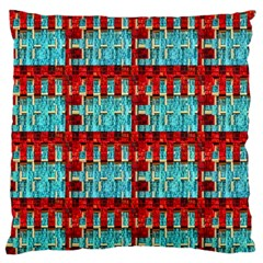 Architectural Abstract Pattern Large Cushion Case (Two Sides)
