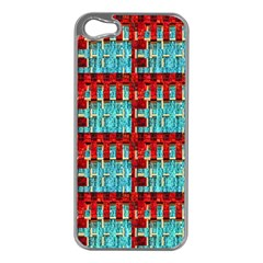 Architectural Abstract Pattern Apple iPhone 5 Case (Silver)