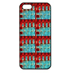 Architectural Abstract Pattern Apple iPhone 5 Seamless Case (Black)