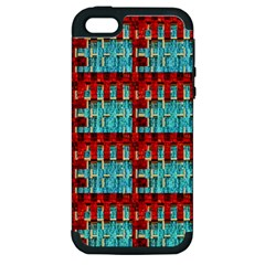 Architectural Abstract Pattern Apple iPhone 5 Hardshell Case (PC+Silicone)