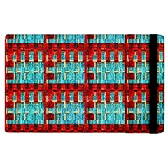 Architectural Abstract Pattern Apple iPad 3/4 Flip Case