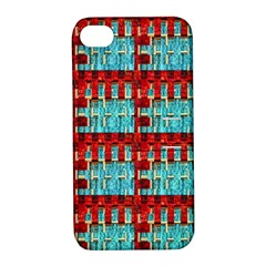 Architectural Abstract Pattern Apple iPhone 4/4S Hardshell Case with Stand
