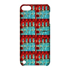 Architectural Abstract Pattern Apple iPod Touch 5 Hardshell Case with Stand