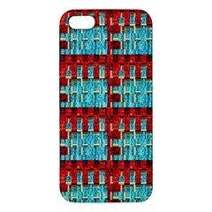 Architectural Abstract Pattern Apple Iphone 5 Premium Hardshell Case