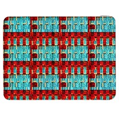 Architectural Abstract Pattern Samsung Galaxy Tab 7  P1000 Flip Case