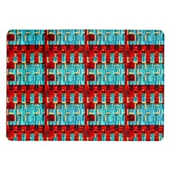 Architectural Abstract Pattern Samsung Galaxy Tab 10.1  P7500 Flip Case