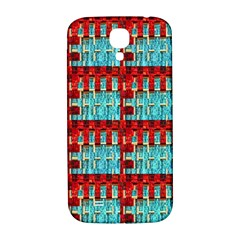 Architectural Abstract Pattern Samsung Galaxy S4 I9500/i9505  Hardshell Back Case