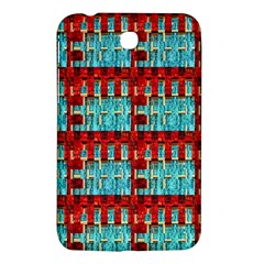Architectural Abstract Pattern Samsung Galaxy Tab 3 (7 ) P3200 Hardshell Case