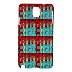 Architectural Abstract Pattern Samsung Galaxy Note 3 N9005 Hardshell Case