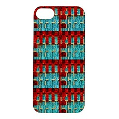 Architectural Abstract Pattern Apple iPhone 5S/ SE Hardshell Case