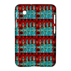 Architectural Abstract Pattern Samsung Galaxy Tab 2 (7 ) P3100 Hardshell Case