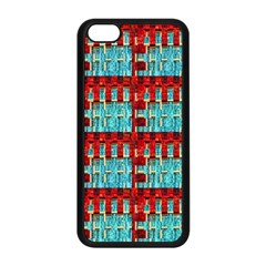 Architectural Abstract Pattern Apple iPhone 5C Seamless Case (Black)