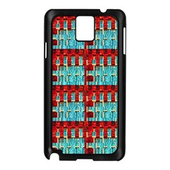 Architectural Abstract Pattern Samsung Galaxy Note 3 N9005 Case (Black)