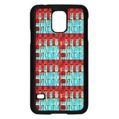 Architectural Abstract Pattern Samsung Galaxy S5 Case (Black)
