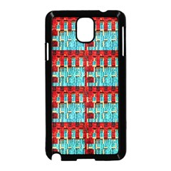 Architectural Abstract Pattern Samsung Galaxy Note 3 Neo Hardshell Case (Black)