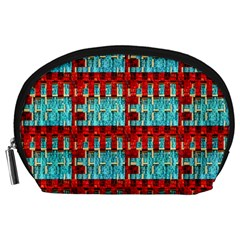 Architectural Abstract Pattern Accessory Pouches (Large)