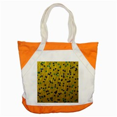 Abstract Gold Background With Blue Stars Accent Tote Bag