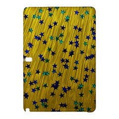 Abstract Gold Background With Blue Stars Samsung Galaxy Tab Pro 10.1 Hardshell Case