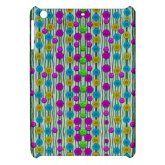 Wood And Flower Trees With Smiles Of Gold Apple Ipad Mini Hardshell Case