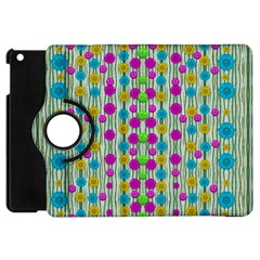 Wood And Flower Trees With Smiles Of Gold Apple iPad Mini Flip 360 Case
