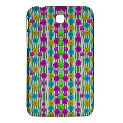 Wood And Flower Trees With Smiles Of Gold Samsung Galaxy Tab 3 (7 ) P3200 Hardshell Case