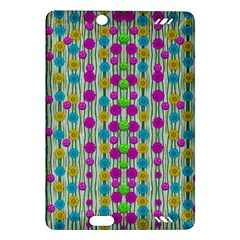 Wood And Flower Trees With Smiles Of Gold Amazon Kindle Fire HD (2013) Hardshell Case