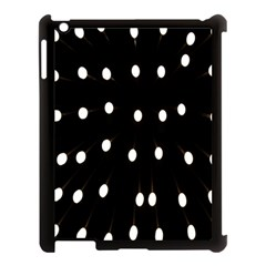 Lamps Abstract Lamps Hanging From The Ceiling Apple iPad 3/4 Case (Black)