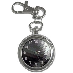 Abstract Pattern Moving Transverse Key Chain Watches