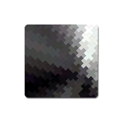 Abstract Pattern Moving Transverse Square Magnet
