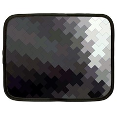 Abstract Pattern Moving Transverse Netbook Case (xl)