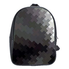 Abstract Pattern Moving Transverse School Bags(large)