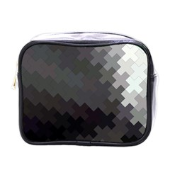 Abstract Pattern Moving Transverse Mini Toiletries Bags