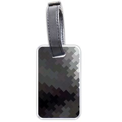 Abstract Pattern Moving Transverse Luggage Tags (two Sides)