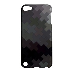Abstract Pattern Moving Transverse Apple Ipod Touch 5 Hardshell Case