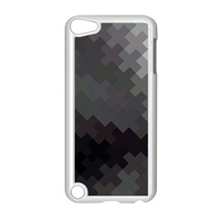 Abstract Pattern Moving Transverse Apple iPod Touch 5 Case (White)
