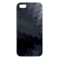 Abstract Pattern Moving Transverse Apple iPhone 5 Premium Hardshell Case
