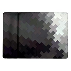 Abstract Pattern Moving Transverse Samsung Galaxy Tab 10.1  P7500 Flip Case