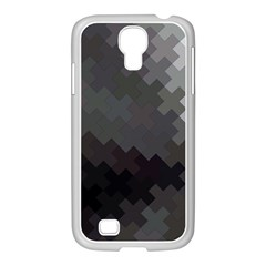 Abstract Pattern Moving Transverse Samsung GALAXY S4 I9500/ I9505 Case (White)