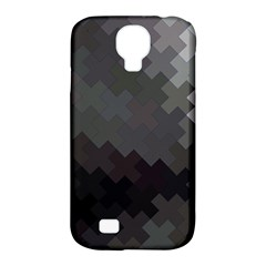 Abstract Pattern Moving Transverse Samsung Galaxy S4 Classic Hardshell Case (PC+Silicone)