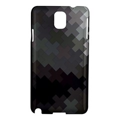 Abstract Pattern Moving Transverse Samsung Galaxy Note 3 N9005 Hardshell Case