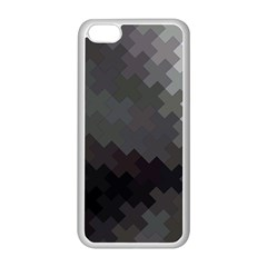 Abstract Pattern Moving Transverse Apple iPhone 5C Seamless Case (White)